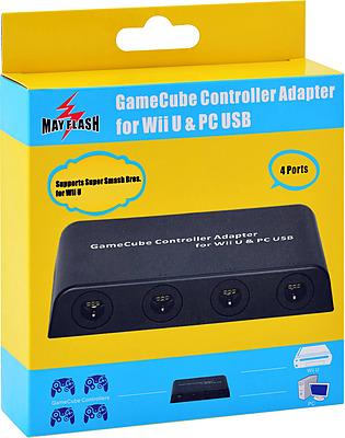 Einfach und sicher online bestellen: Wii U Gamecube Controller Adapter (Mayflash) in Österreich kaufen.