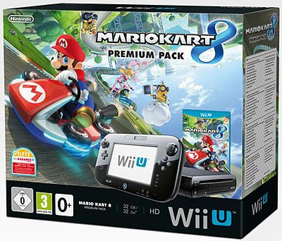 Einfach und sicher online bestellen: Wii U Premium 32GB black + Mario Kart 8 in Österreich kaufen.