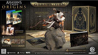 Einfach und sicher online bestellen: Assassin's Creed: Origins Collectors Edition + DLC in Österreich kaufen.