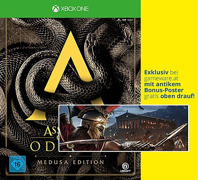 Einfach und sicher online bestellen: Assassin's Creed Odyssey Medusa Edition in Österreich kaufen.