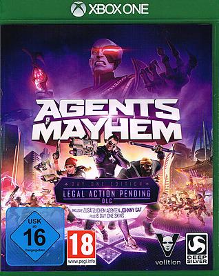 Einfach und sicher online bestellen: Agents of Mayhem D1 Edition + 7 DLCs in Österreich kaufen.