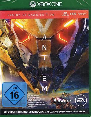 Einfach und sicher online bestellen: Anthem Legion of Dawn Edition + 4 DLCs in Österreich kaufen.
