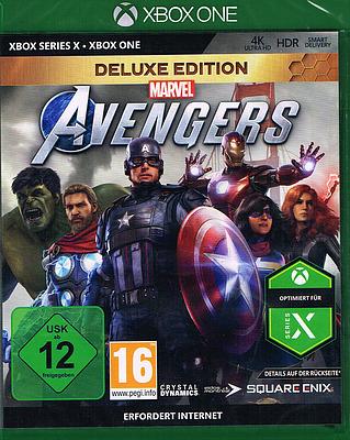 Einfach und sicher online bestellen: Marvel's Avengers Deluxe Edition + 14 Boni in Österreich kaufen.