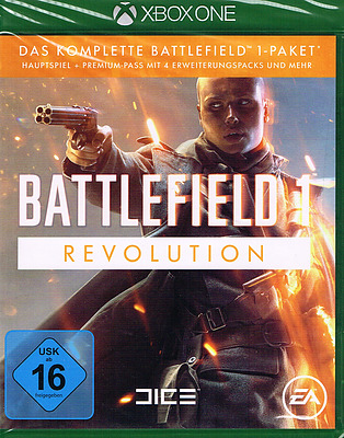Einfach und sicher online bestellen: Battlefield 1 Revolution Edition (AT-PEGI) in Österreich kaufen.