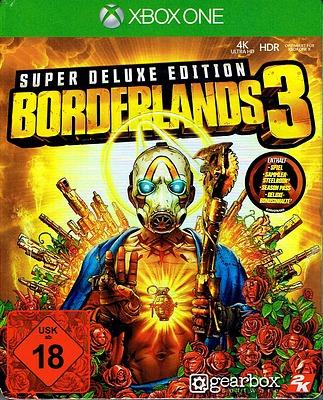 Einfach und sicher online bestellen: Borderlands 3 Super Deluxe Edition + 20 Boni in Österreich kaufen.