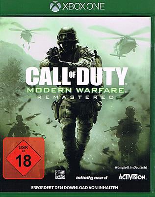 Einfach und sicher online bestellen: Call of Duty: Modern Warfare Remastered in Österreich kaufen.