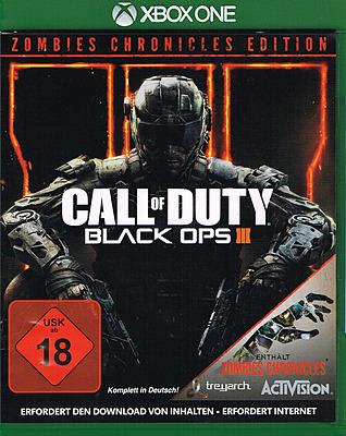Einfach und sicher online bestellen: Call of Duty Black Ops 3 + Zombie Chronicles in Österreich kaufen.
