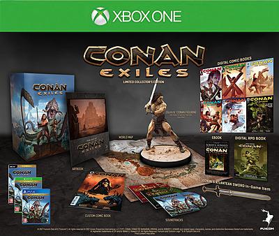 Einfach und sicher online bestellen: Conan Exiles Collector's Editon in Österreich kaufen.