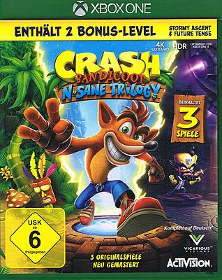 Einfach und sicher online bestellen: Crash Bandicoot N. Sane Trilogy in Österreich kaufen.