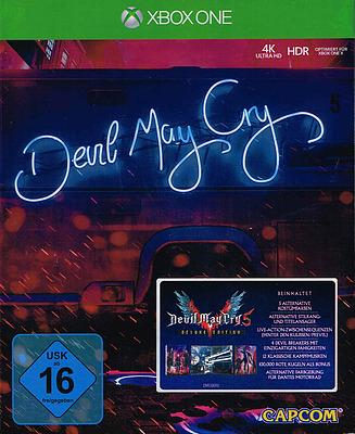 Einfach und sicher online bestellen: Devil May Cry 5 Deluxe Edition + 25 Boni in Österreich kaufen.