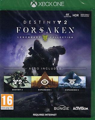 Einfach und sicher online bestellen: Destiny 2: Forsaken Legendary Collection (PEGI) in Österreich kaufen.