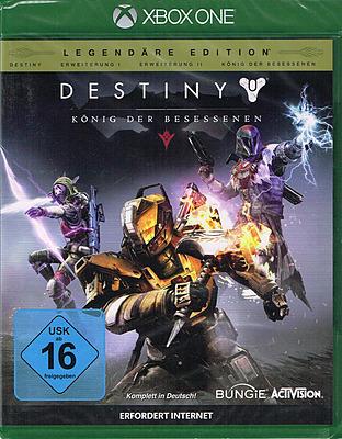 Einfach und sicher online bestellen: Destiny Legendäre Edition in Österreich kaufen.