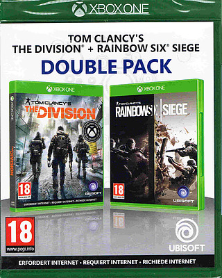 Einfach und sicher online bestellen: The Division + Rainbow Six Siege (AT-PEGI) in Österreich kaufen.
