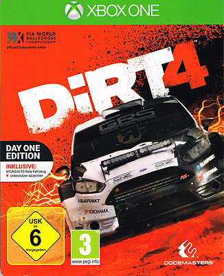 Einfach und sicher online bestellen: DiRT 4 Steelbook D1 Edition + 3 DLCs in Österreich kaufen.