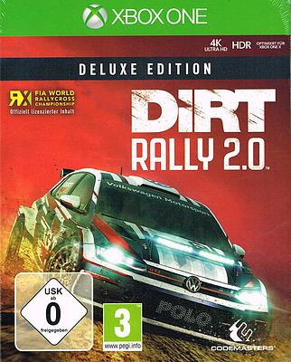 Einfach und sicher online bestellen: Dirt Rally 2.0 Deluxe Edition + 8 Boni in Österreich kaufen.