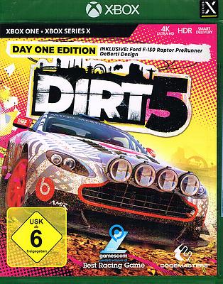 Einfach und sicher online bestellen: DIRT 5 Day One Edition (AT-PEGI) in Österreich kaufen.