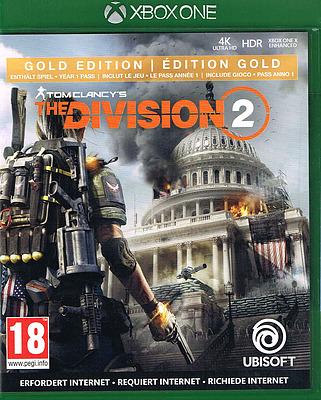 Einfach und sicher online bestellen: Tom Clancys The Division 2 Gold Edition (AT-PEGI) in Österreich kaufen.