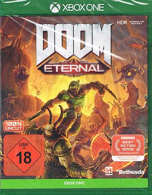 Einfach und sicher online bestellen: DOOM Eternal Day 1 Edition + 4 Boni (AT-PEGI) in Österreich kaufen.