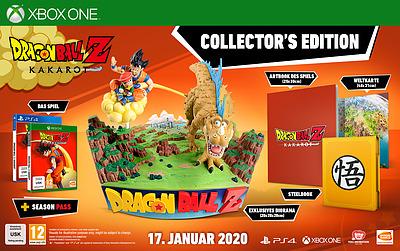 Einfach und sicher online bestellen: Dragon Ball Z: Kakarot Collectors Edition in Österreich kaufen.