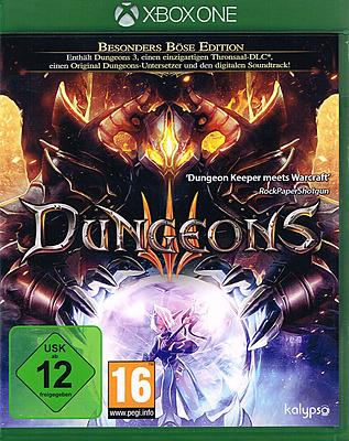 Einfach und sicher online bestellen: Dungeons 3 Besonders Böse Edition in Österreich kaufen.