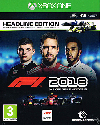 Einfach und sicher online bestellen: F1 2018 Headline Edition + Steelbook + 2 DLCs in Österreich kaufen.
