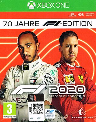 Einfach und sicher online bestellen: F1 2020 70 Jahre Edition (AT-PEGI) in Österreich kaufen.