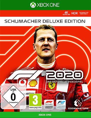 Einfach und sicher online bestellen: F1 2020 Schumacher Deluxe Edition + 14 Boni in Österreich kaufen.