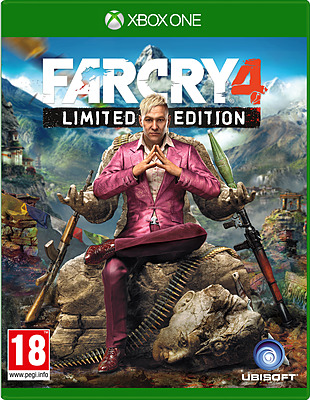 Einfach und sicher online bestellen: Far Cry 4 Limited Edition + 4 DLCs (AT-PEGI) in Österreich kaufen.