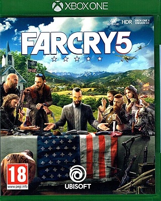 Einfach und sicher online bestellen: Far Cry 5 + 6 DLCs (AT-PEGI) in Österreich kaufen.