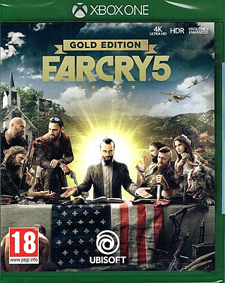 Einfach und sicher online bestellen: Far Cry 5 Gold Edition + 6 DLCs (AT-PEGI) in Österreich kaufen.