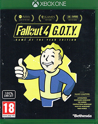 Einfach und sicher online bestellen: Fallout 4 Game of the Year Edition (AT) in Österreich kaufen.
