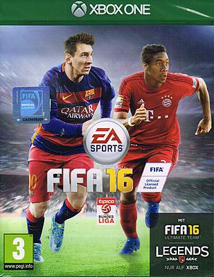 Einfach und sicher online bestellen: FIFA 16 (AT-PEGI) + Steelbook in Österreich kaufen.