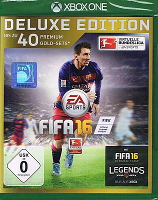 Einfach und sicher online bestellen: FIFA 16 Deluxe Edition + Steelbook in Österreich kaufen.