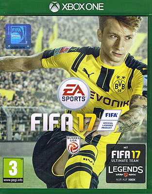 Einfach und sicher online bestellen: FIFA 17 (AT-PEGI) in Österreich kaufen.
