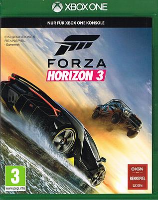 Einfach und sicher online bestellen: Forza Horizon 3 + DLC (AT-PEGI) in Österreich kaufen.