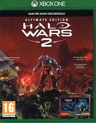 Einfach und sicher online bestellen: Halo Wars 2 Ultimate Edition + Steelbook in Österreich kaufen.