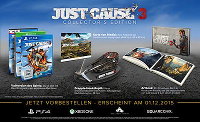 Einfach und sicher online bestellen: Just Cause 3 Collectors Edition in Österreich kaufen.