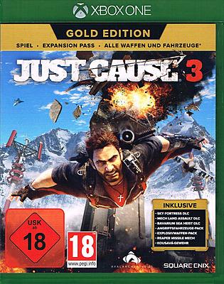 Einfach und sicher online bestellen: Just Cause 3 Gold Edition (EU-Import) in Österreich kaufen.