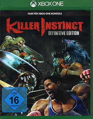 Einfach und sicher online bestellen: Killer Instinct Definitive Edition (AT-PEGI) in Österreich kaufen.