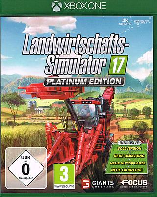 Einfach und sicher online bestellen: Landwirtschafts-Simulator 17 Platinum Edition (AT) in Österreich kaufen.