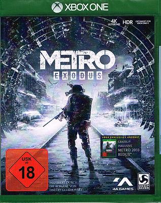 Einfach und sicher online bestellen: Metro Exodus + 2 Boni (AT-PEGI) in Österreich kaufen.