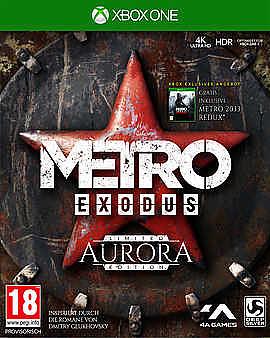 Einfach und sicher online bestellen: Metro Exodus Aurora Limited Edition + 8 Boni in Österreich kaufen.