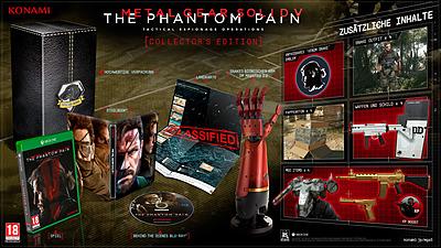 Einfach und sicher online bestellen: Metal Gear Solid 5: The Phantom Pain CE in Österreich kaufen.