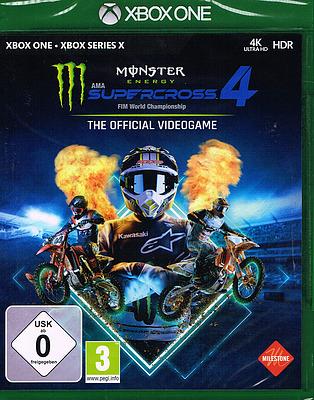Einfach und sicher online bestellen: Monster Energy Supercross 4 + 4 Boni in Österreich kaufen.