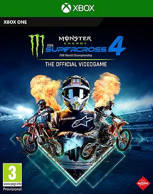 Einfach und sicher online bestellen: Monster Energy Supercross 4 (PEGI) in Österreich kaufen.