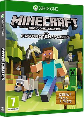 Einfach und sicher online bestellen: Minecraft mit Favoriten Paket in Österreich kaufen.