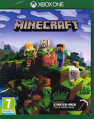 Einfach und sicher online bestellen: Minecraft + Starter Pack (AT-PEGI) in Österreich kaufen.