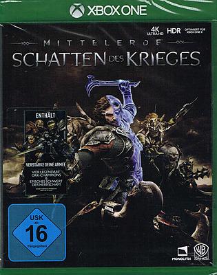 Einfach und sicher online bestellen: Mittelerde: Schatten des Krieges + 5 DLC in Österreich kaufen.