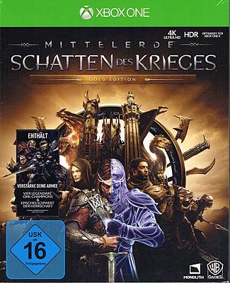 Einfach und sicher online bestellen: Mittelerde: Schatten des Krieges Gold Edition in Österreich kaufen.