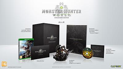 Einfach und sicher online bestellen: Monster Hunter: World Collector's Edition in Österreich kaufen.